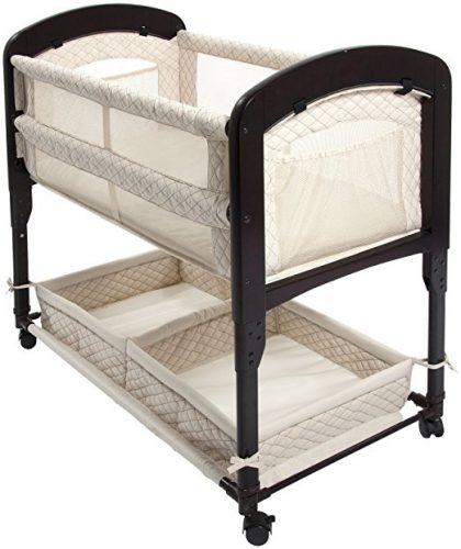 best bassinet for small spaces - arms reach