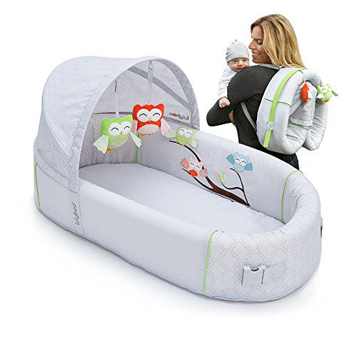 best bassinet for small spaces, lullyboo