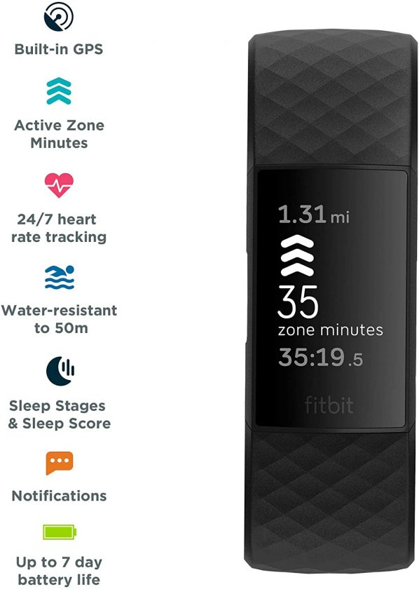This is an image of Fitbit Charge 4.