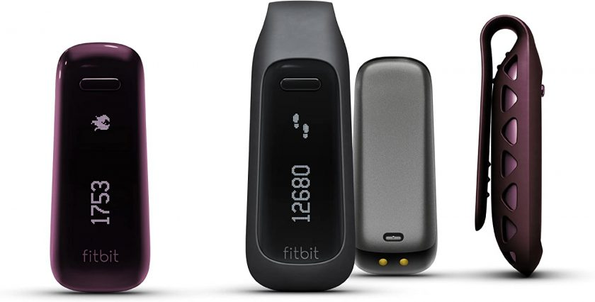 This is an image of Fitbit One Wireless Activity Plus Sleep Tracker.