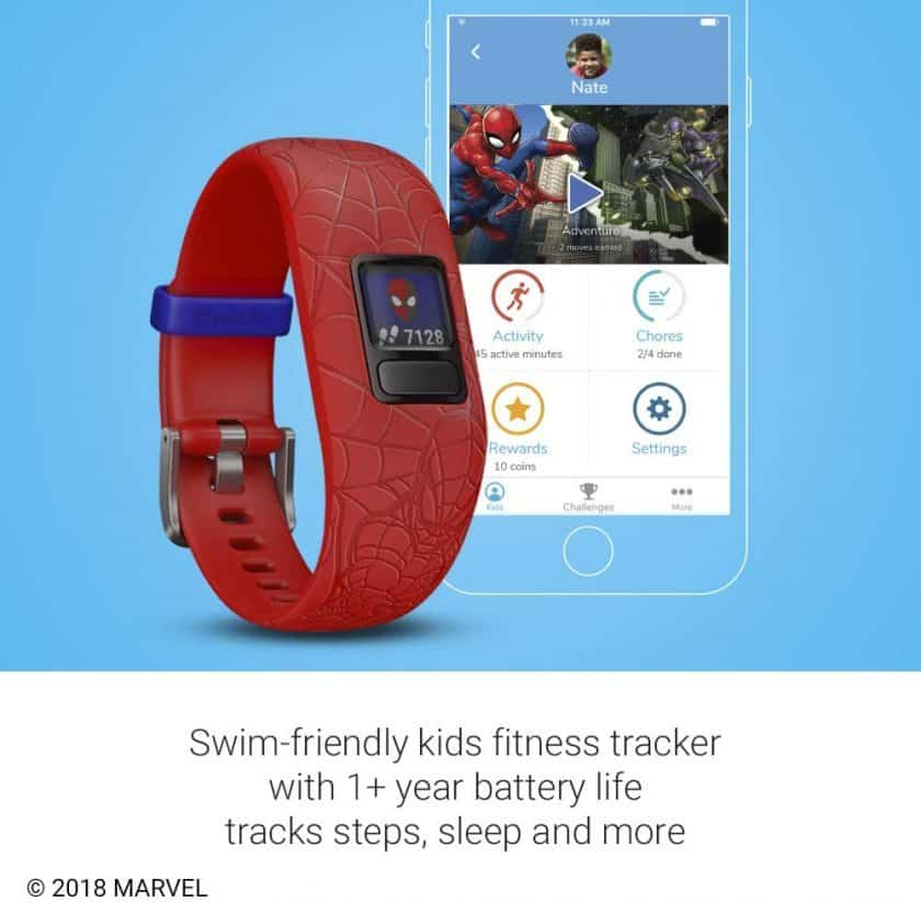 This is an image of red version of  Garmin vivofit jr. 2. Please find more images of this product via the Amazon button.