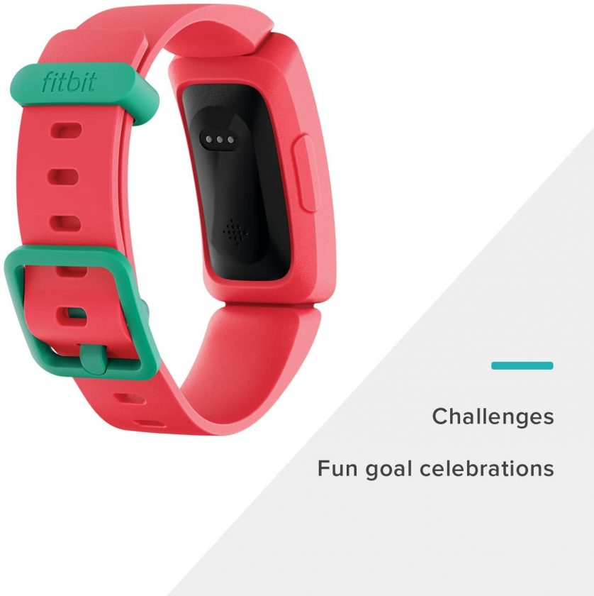 This is an image of Fitbit Ace 2 Activity Tracker for Kids in pink color.