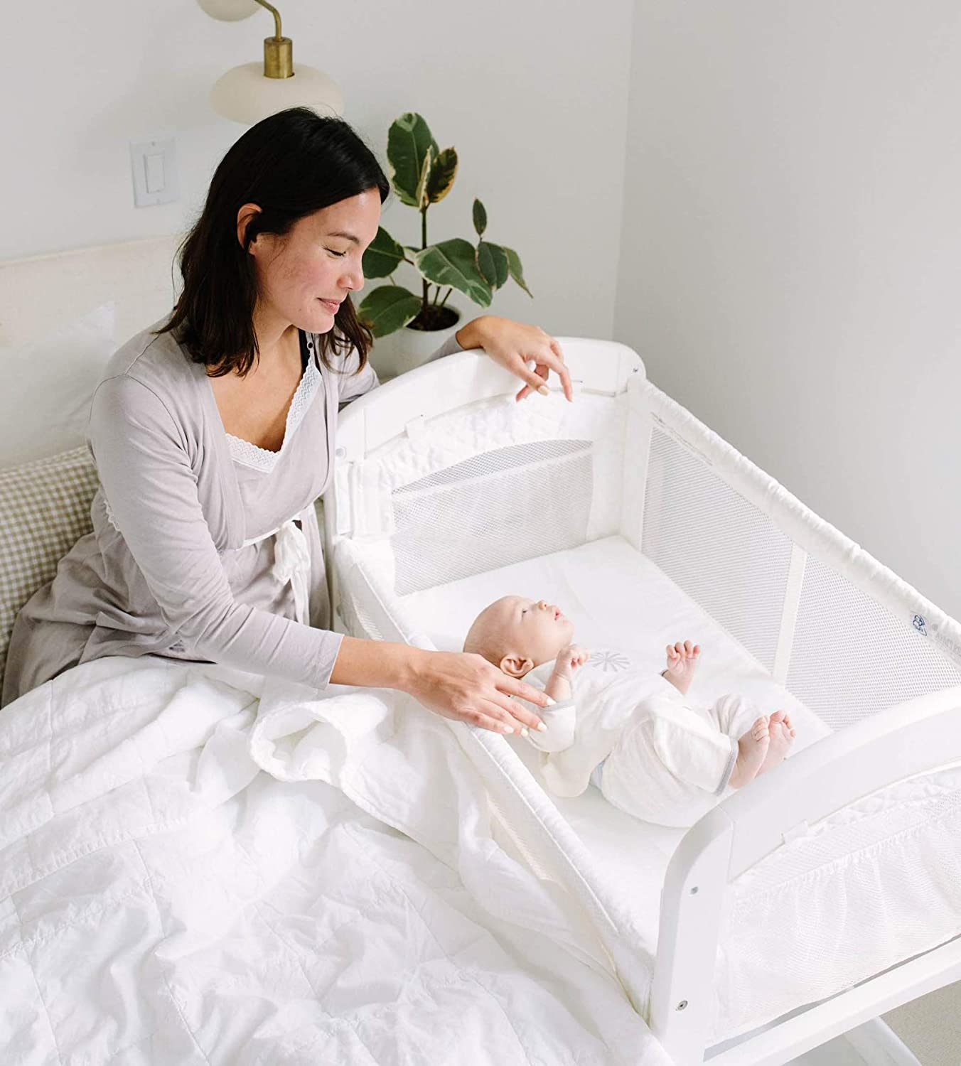 arms reach concepts cambria co sleeper bassinet review