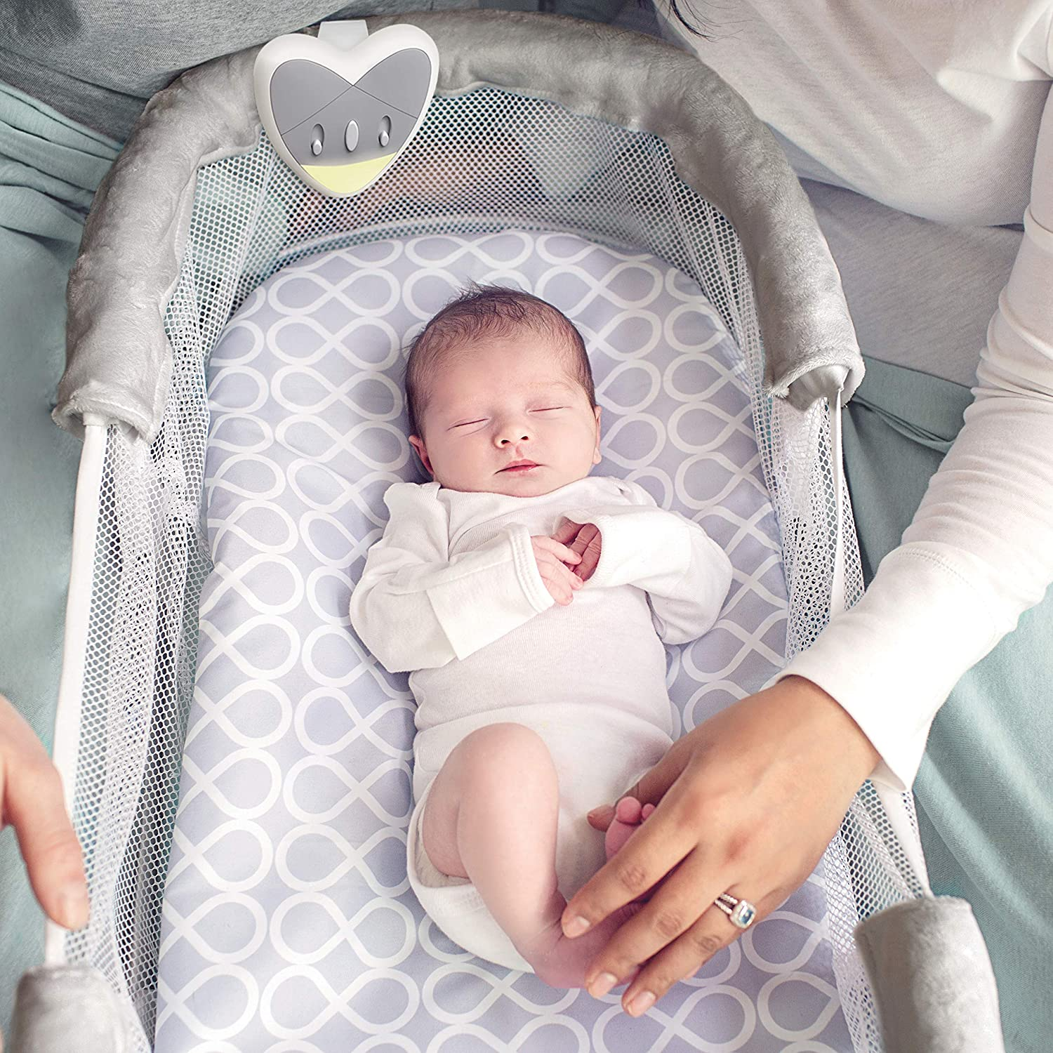 swaddleme by your side sleeper a partner for your babys safety