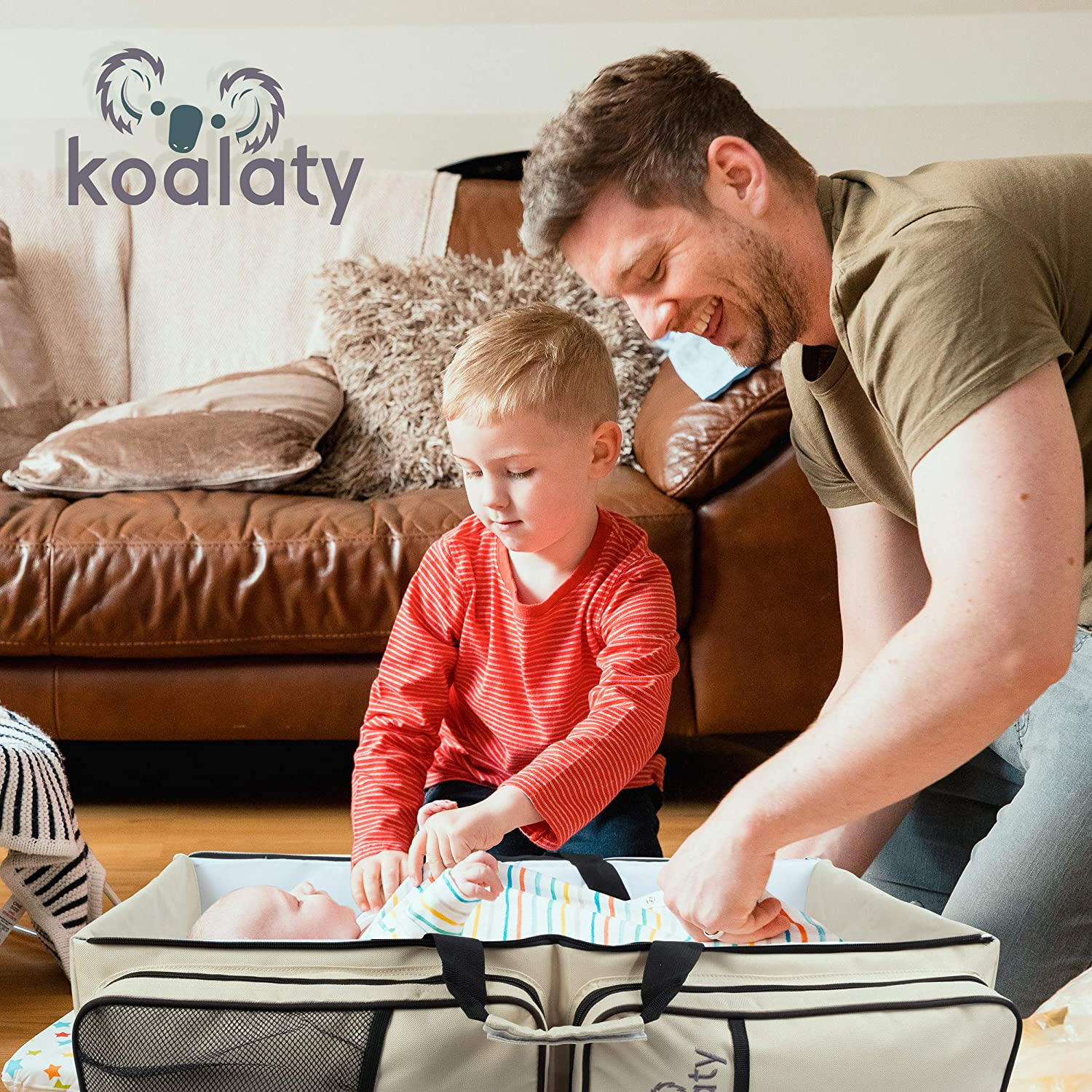 koalaty 3 in 1 universal infant travel tote review